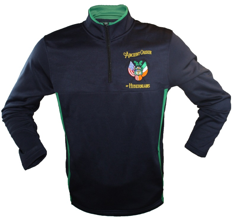Ancient Order of Hibernians Quarter Zip Pullover